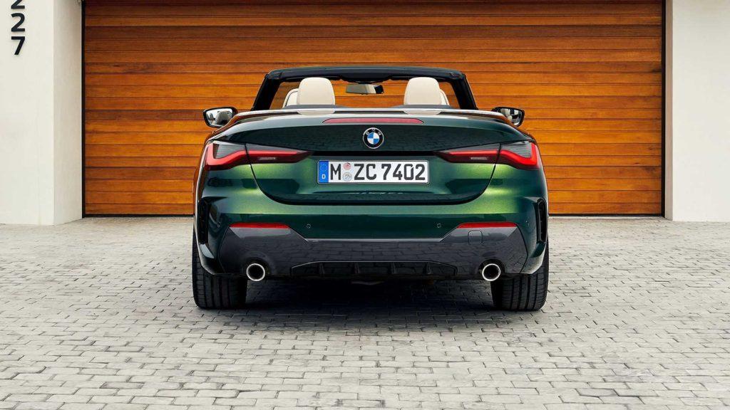 Premiär: Nya BMW 4 serie Cabriolet med maffig grill CarUp.se